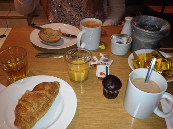 Comfort Inn Kings Cross : petit déjeuner