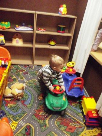 Hotel Euroopa: Детская комната