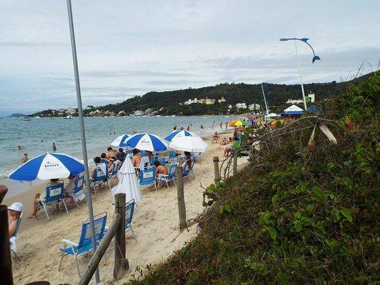 Jurerê Beach Village: Vista da Praia