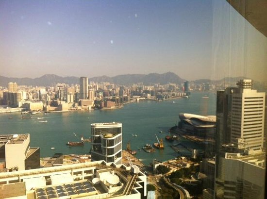 Conrad Hong Kong: View from the Room 61st Floor