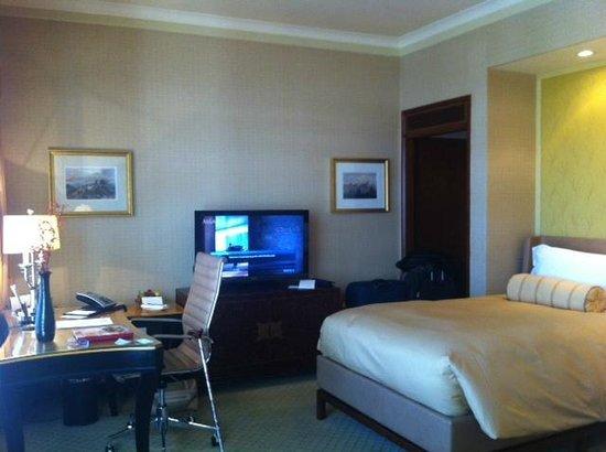 Conrad Hong Kong: Executive twin bed room