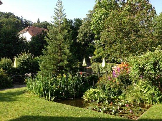 Gasthof Kreuz Muhledorf: Le jardin