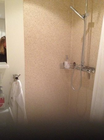 Alfred's Apartments : clean shower