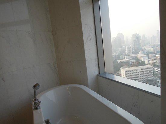 Bangkok Marriott Hotel Sukhumvit : お風呂