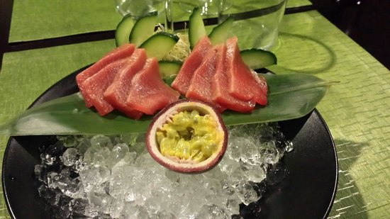 Nara Restaurant: Toro sashimi (ventresca de atún rojo)