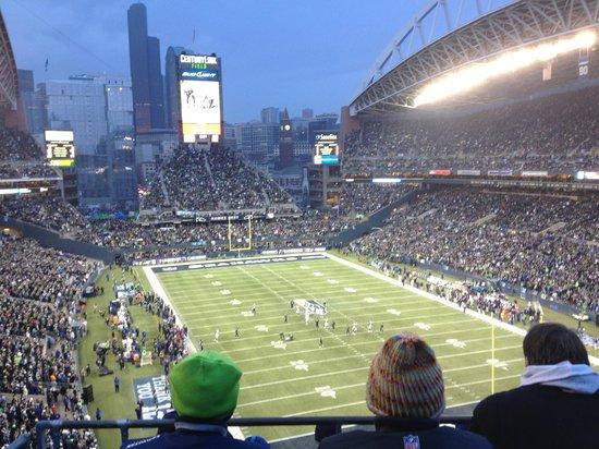 CenturyLink Field: Seahawks vs St Louis Rams 29 dec. 2013,3