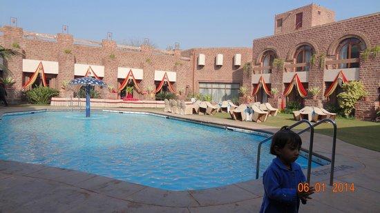 Shree Ram International : Pool view