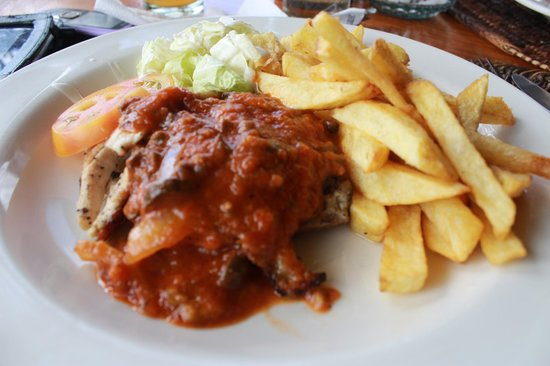 Seadive: beef stroganauff