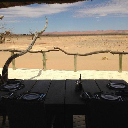 Wilderness Safaris Little Kulala: Dinner
