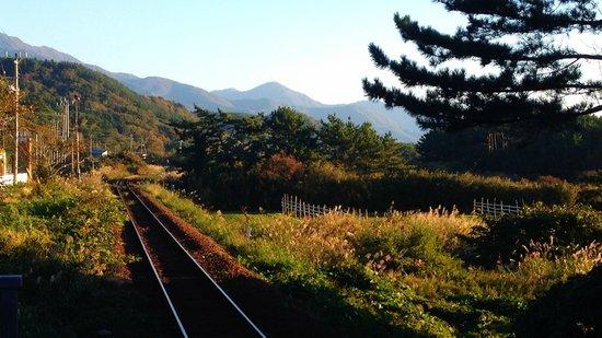 Fukaura-machi, Japón: 十二湖駅
