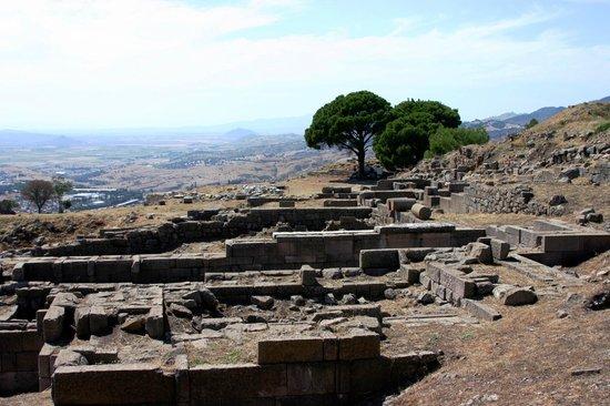 The Acropolis: agora