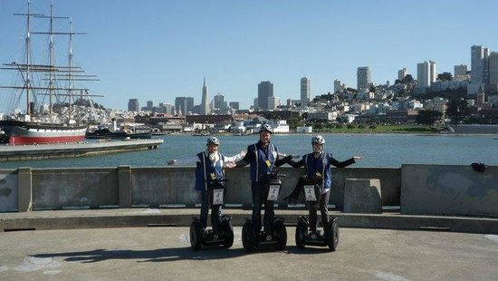 Electric Tour Company Segway Tours : Segway in SF