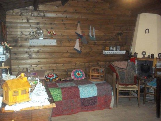 Barga, Italia: Interno casa della Befana