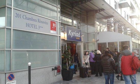 Kyriad Hotel Paris Bercy Village: Вид отеля