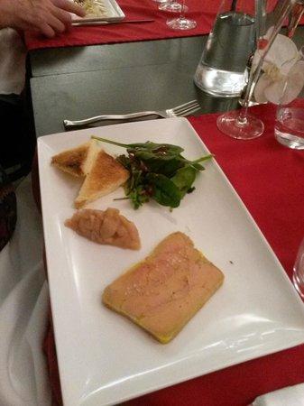 Le bacchus: Foie gras