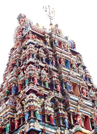 Sri Maha Mariamman Temple : Detaljrikedom