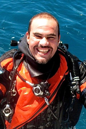 André Valentim Instrutor de Mergulho