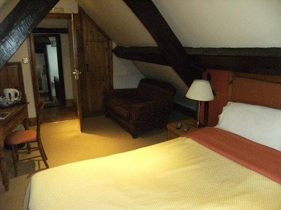 The Talbot Hotel : Double bedroom