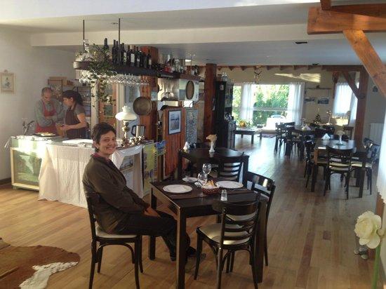 Rio Tarde Casa Patagonica: la sala da pranzo