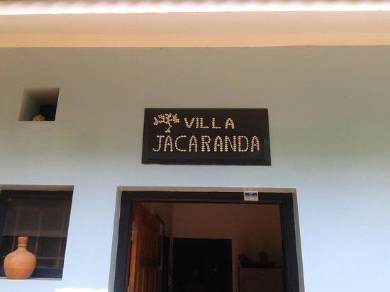 Villa Jacaranda: Entrance