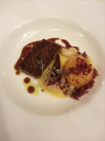 THE TREBY ARMS: 3rd course: Corned Beef