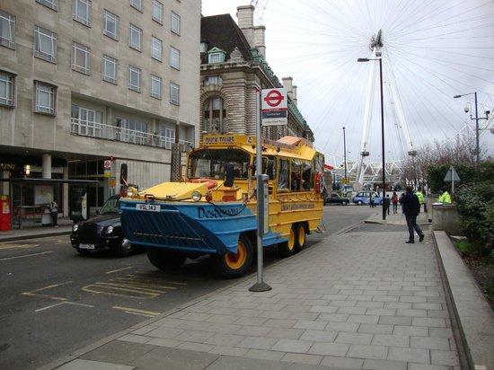 """London Duck Tours: """"onibus"""""""
