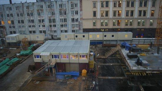Baltiya Hotel : Вид из окна номера