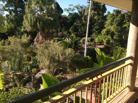 Licuala Lodge: View from balcony