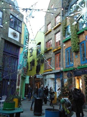 Neal's Yard: Jolies façades colorées