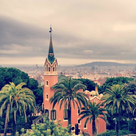 NH Barcelona Ramblas : View from Park Guell