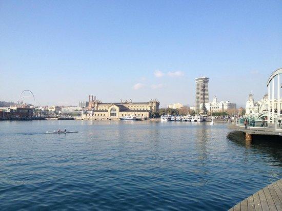 Hesperia Ramblas: The Port