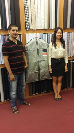 La Moda suits: Mr.Vijay with DJ from Paris