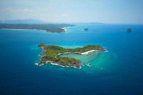 Ankazoberavina Island, Мадагаскар: foto aerea dell'isola