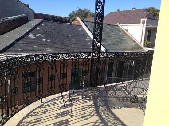 Hotel St. Marie: Corner balcony