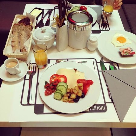 Bohem Art Hotel: breakfast