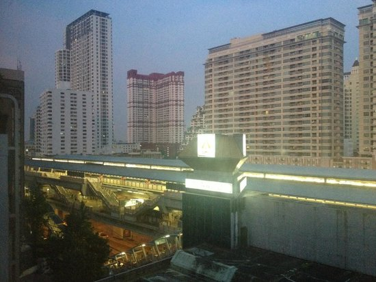 Asia Hotel Bangkok : Vista do quarto
