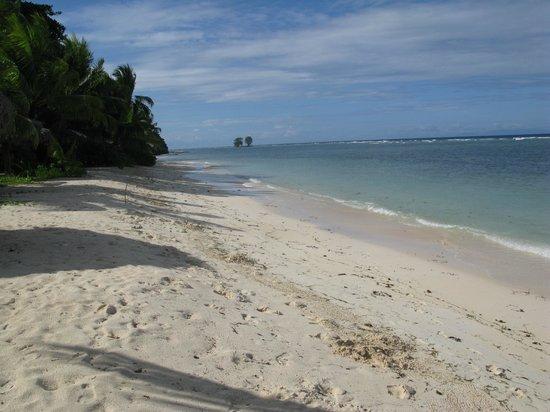 La Digue Island Lodge : Strand