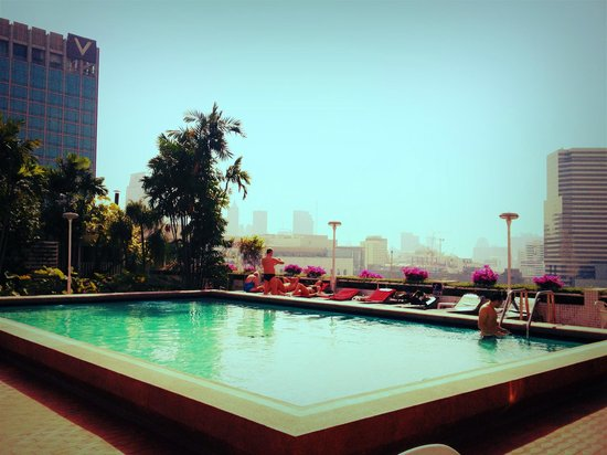 Asia Hotel Bangkok : Piscina