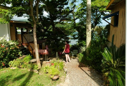 Zion Country Beach Cabins : View from the entrance