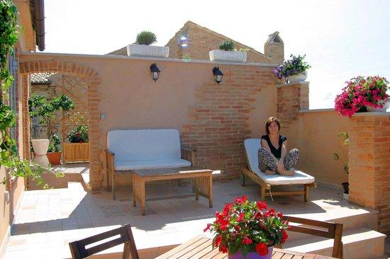 Breakfast in terrazza - Picture of B&B Le Terrazze, Fermo - TripAdvisor
