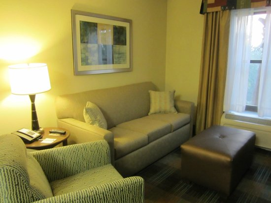 Hampton Inn & Suites Fort Myers Beach / Sanibel Gateway: Our room