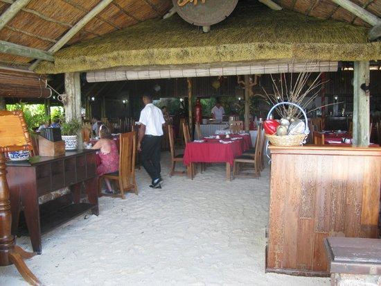 La Digue Island Lodge : Der Speisesaal