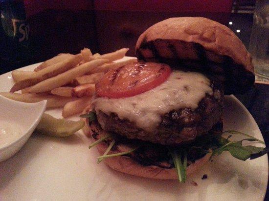 Stone's : Burger with mozzarella cheese. Too tasty to explain.