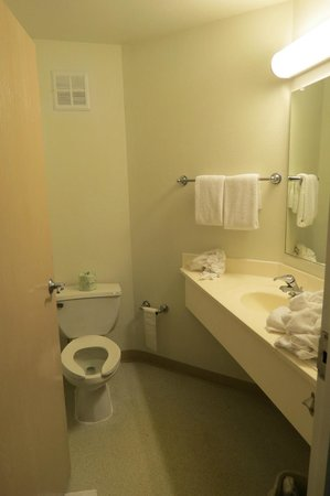 Motel 6 Orlando International Drive : Bathroom