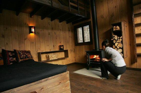 int rieur d 39 une cabane sur pilotis photo de kabania notre dame de la merci tripadvisor. Black Bedroom Furniture Sets. Home Design Ideas