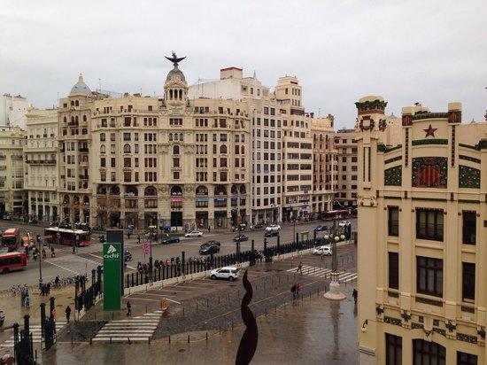 Hotel Zenit Valencia : Vista dalla camera