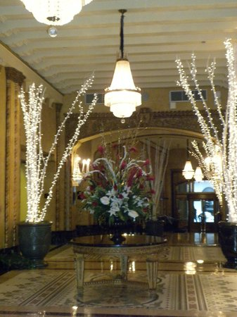 The Roosevelt New Orleans, A Waldorf Astoria Hotel : Beautiful lobby