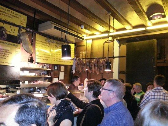Can Paixano (La Xampanyeria): Interno