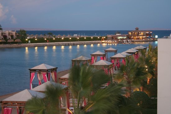 dusk picture of sunrise grand select crystal bay resort hurghada tripadvisor. Black Bedroom Furniture Sets. Home Design Ideas