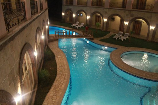 Corto del Mar Hotel : pool view from the 2nd floor